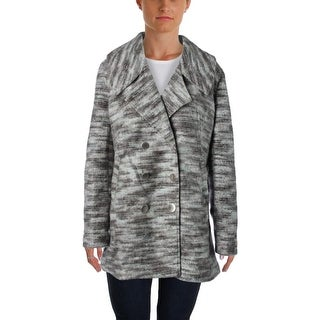 Misha Nonoo Womens Coat Wool Tweed