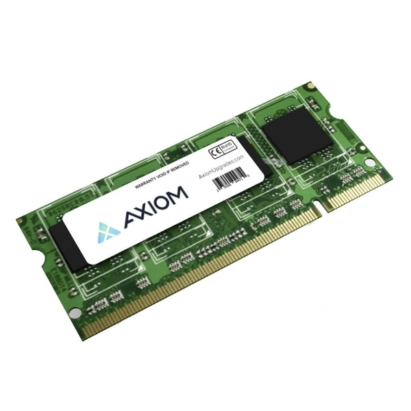 Axion MB667/4G-AX Axiom 4GB Module - 4 GB (1 x 4 GB) - DDR2 SDRAM - 667 MHz DDR2-667/PC2-5300 - Non-ECC - Unbuffered - 200-pin -