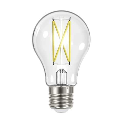 8 Watt LED A19 Clear Medium Base 2700K 90 CRI 120 Volt - N/A