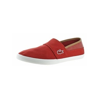 Lacoste Mens Marice Slip-On Shoes Low-Top Vulcanized