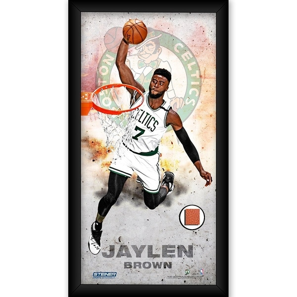Shop Jaylen Brown Boston Celtics Player Profile Framed 10x20 Photo ...