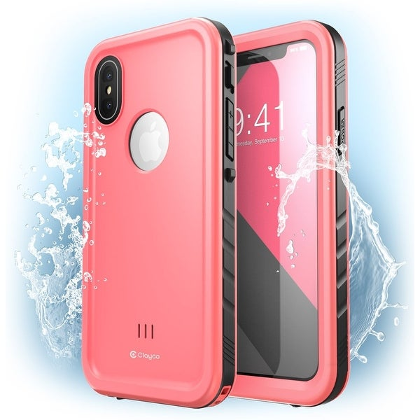 new concept 9daca f461f Shop iPhone X Case, Clayco [Omni] Waterproof Full-body Rugged Case ...