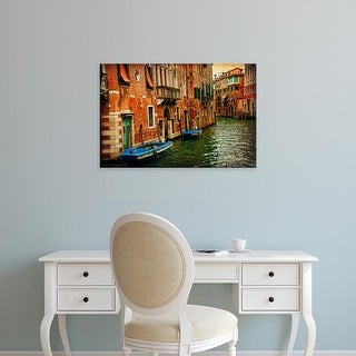 Easy Art Prints Danny Head's 'Venetian Canals III' Premium Canvas Art