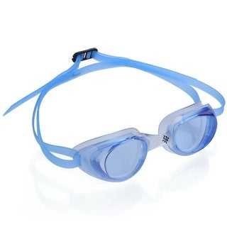 Ivation Swimming Goggles - UV Protection, Anti-Fog, Quick Adjusting Silicone Head Strap