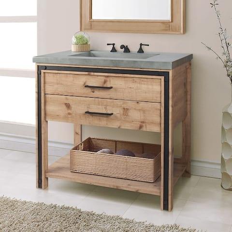 Saint Birch Tulum 36-inch Single Bathroom Vanity Base