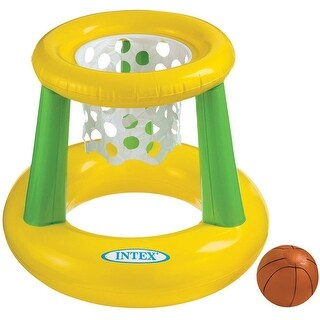 Intex 58504EP Floating Hoops Basketball Game, Multicolored