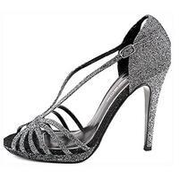 Caparros Women's Precious Evening Platform Sandals, Toast Flash, Size 9.5