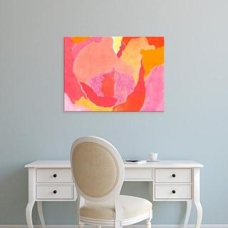 Easy Art Prints Carolyn Roth's 'Cabbage Rose IV' Premium Canvas Art