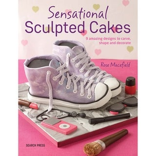 Search Press Books-Sensational Sculpted Cakes