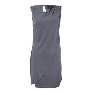 Jessica Simpson Women's Jersey Drape Sheath Dress