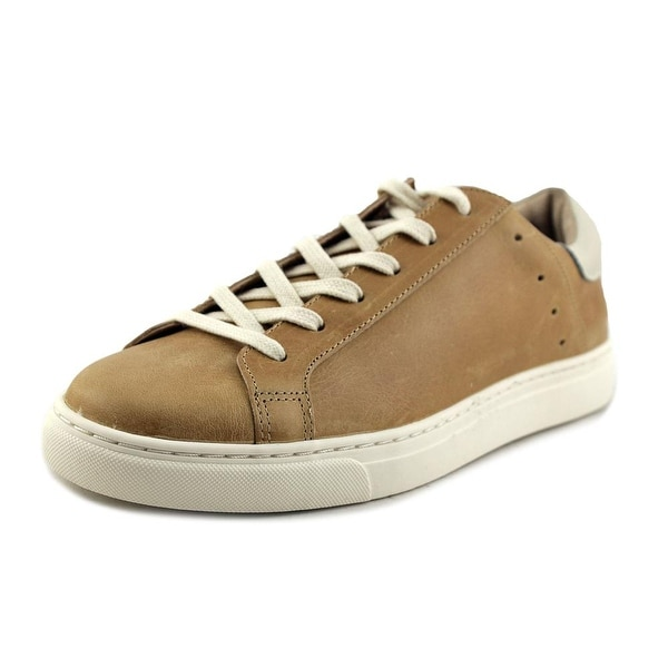 Lucky Brand Lotuss 3 Women Round Toe Leather Tan Sneakers
