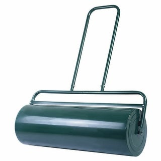 Link to Lawn Roller 36-Inch x 12-Inch Filled Water for Garden Roller Similar Items in Gardening