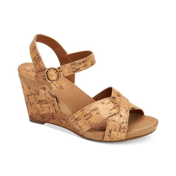 Style & Co. Womens Ferrnn Fabric Open Toe Casual Platform Sandals. Opens flyout.