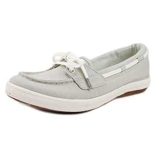Keds Glimmer Moc Toe Canvas Boat Shoe