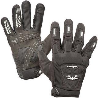 Valken Impact Full Finger Paintball Gloves - Black