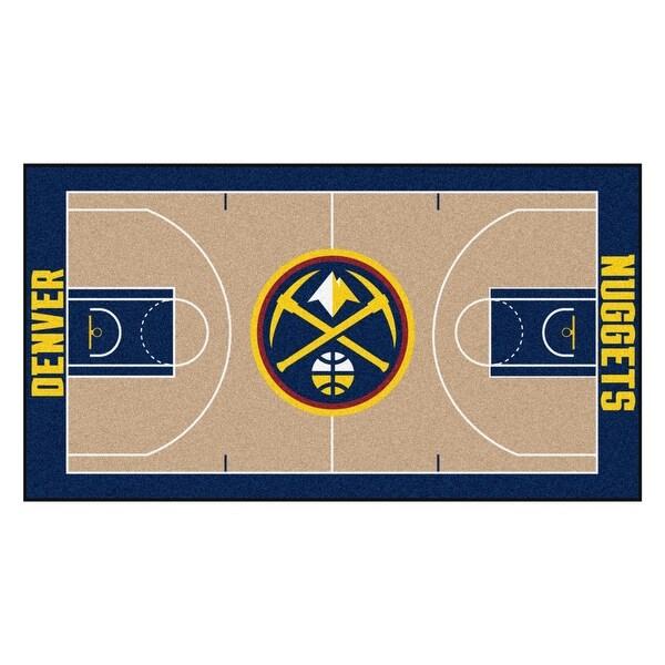 Denver Nuggets Court: Shop NBA Denver Nuggets NBA Court Large Non-Skid Mat Area