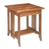 End Tables Bedroom Dark Oak Mission End Table 24.5 Inch