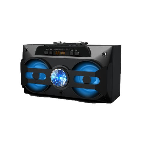 """Rechargeable Bluetooth Speaker with MP3 and LED - 3"""""""