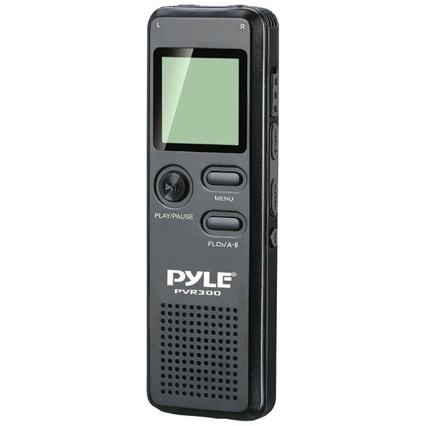 Pyle Home Pvr300 Rechargeable Digital Voice Recorder With Usb & Pc Interface