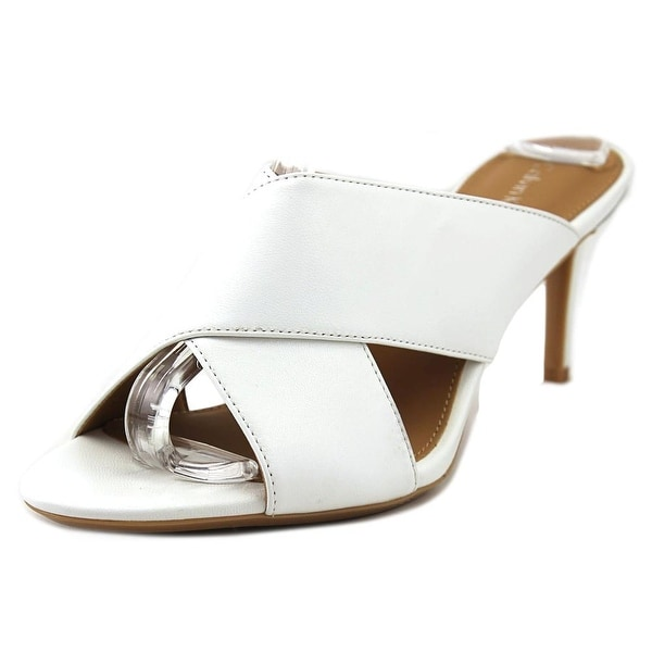 Calvin Klein Lucie Women Open Toe Leather Sandals