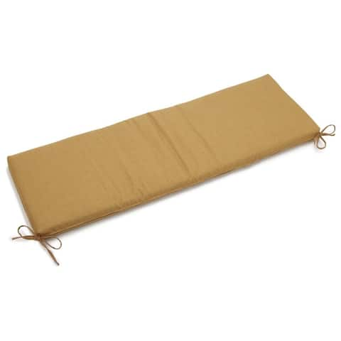 Blazing Needles 57-inch All-Weather Bench Cushion