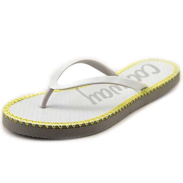 Coolway Sirope Women Open Toe Synthetic White Flip Flop Sandal