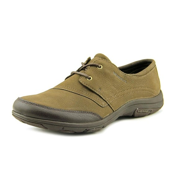 Merrell Dassie Tie   Round Toe Leather  Sneakers