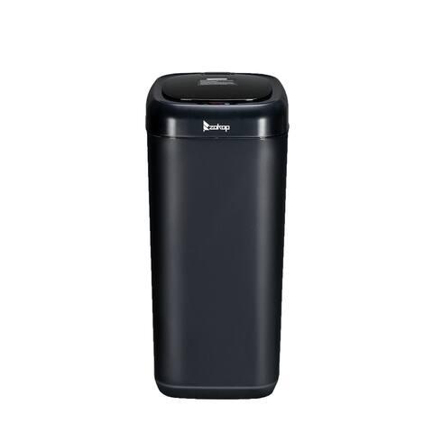 Zokop 35L Smart Motion Sensor Automatic Trash Can Waste Bin Blue