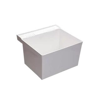 """Proflo PFLT2123W 23"""" Single Compartment Wall Mounted Laundry Sink"""