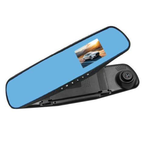 "2.8"" LCD 1080P Car DVR Video Recorder Dash Cam Auto Rearview Mirror Camera G-sensor"