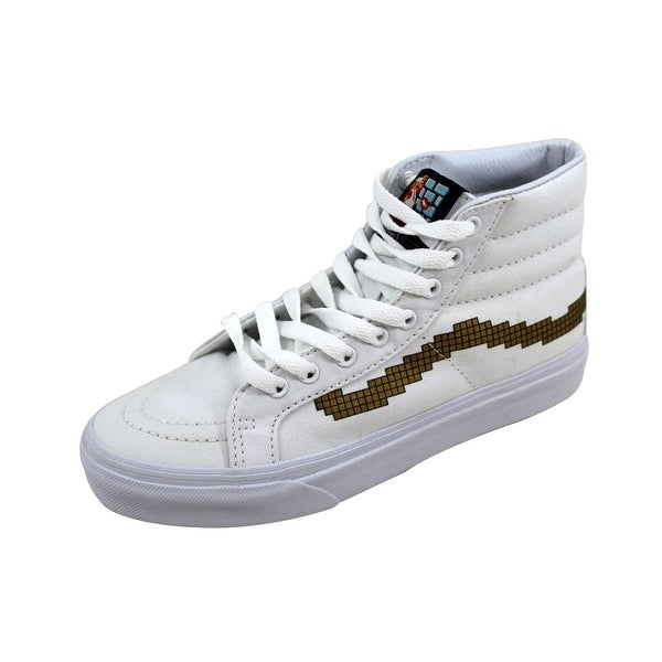 6da10fed3f Shop Vans Men s Sk8 Hi Slim Console Gold Nintendo VN00018IJUZ - On ...