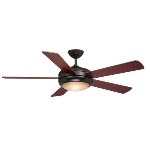 "Vaxcel Lighting FN52243 Rialta 52"" 5 Blade Indoor Ceiling Fan - Light Kit and Fan Blades Included"