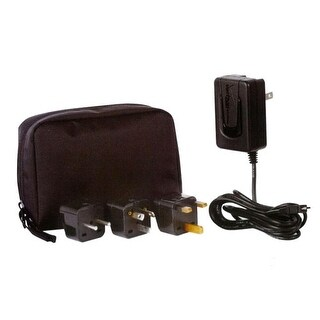 OEM Verizon Mini USB Charger with International Adapers Kit with Pouch