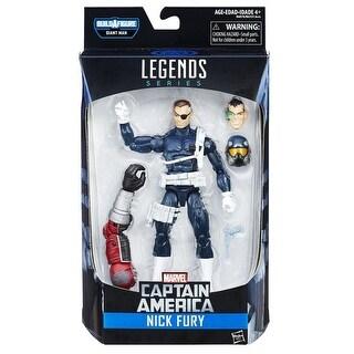 "Marvel Legends Captain America 6"" Action Figure Series: Nick Fury"