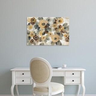 Easy Art Prints Silvia Vassileva's 'Neutral Floral Beige I' Premium Canvas Art
