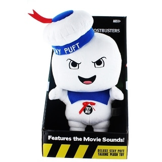 "Ghostbusters 15"" Talking Plush Angry Stay Puft Marshmallow Man Plush"