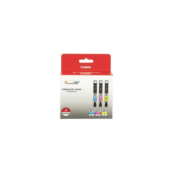 Canon CLI-251XL Ink 3-Pack Toner Cartridge Drums