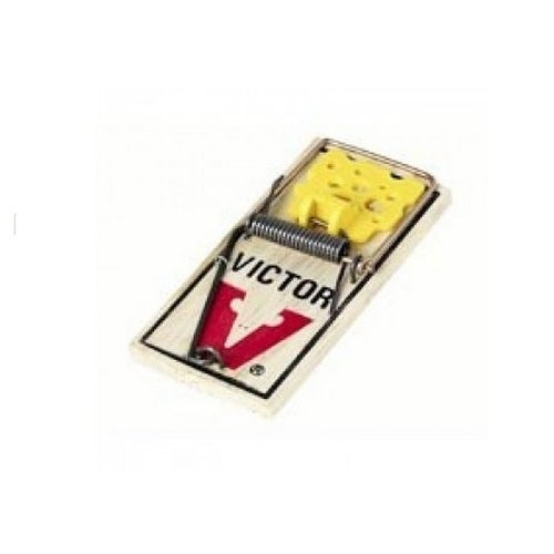 Victor M039 Clipstrip Ez-Set Mouse Trap, 4 Pcs/ Pack
