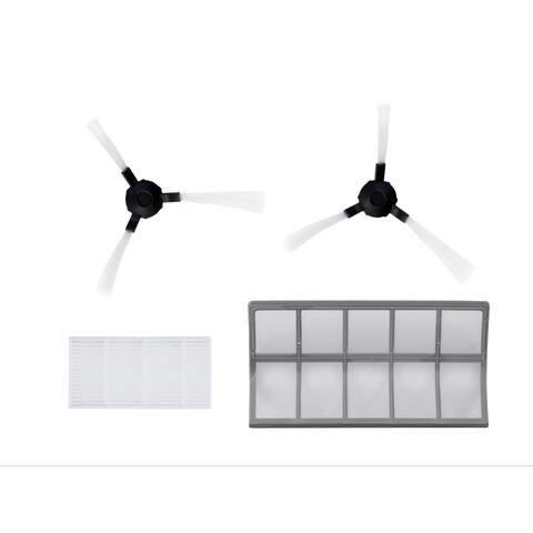 Monoprice 2.0 Suction Robotic Vacuum Cleaner Accessories Filter,Brushes & Makers
