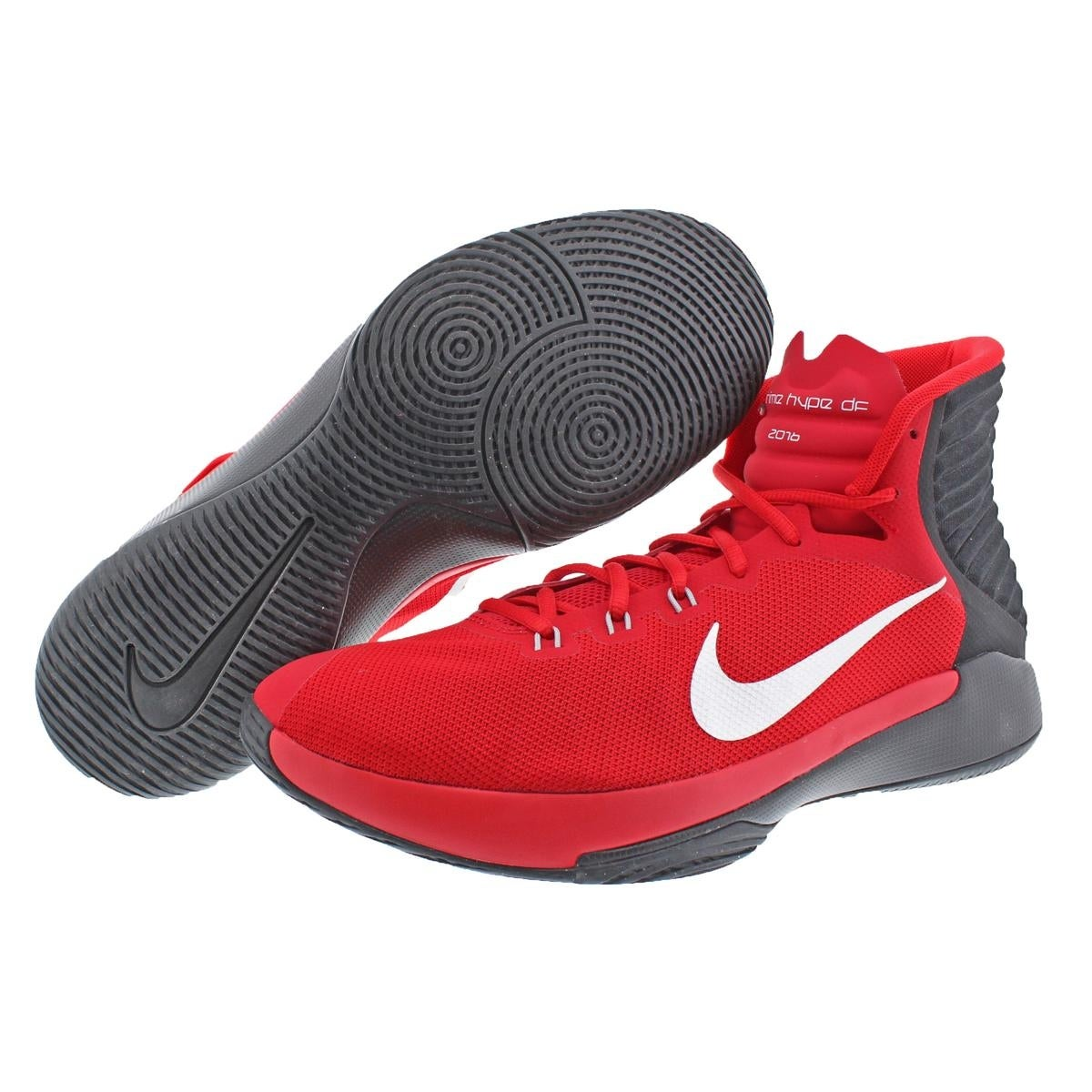 best loved cad93 eafc8 Nike Mens Prime Hype DF 2016 Basketball Shoes Textured Dual Fusion - 12  medium (d)