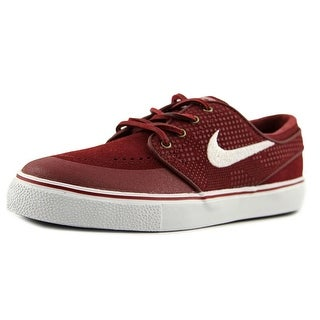 Nike Stefan Janoski PR SE Youth Round Toe Suede Red Sneakers