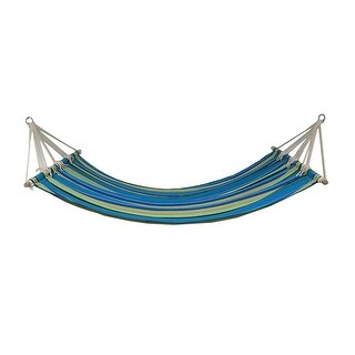 Colorful Caribbean Stripe Wide UV Resistant Hammock