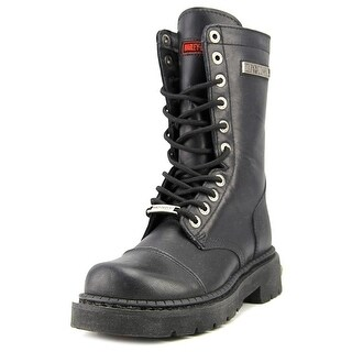 Harley Davidson Para Troopa Men   Synthetic Black Motorcycle Boot