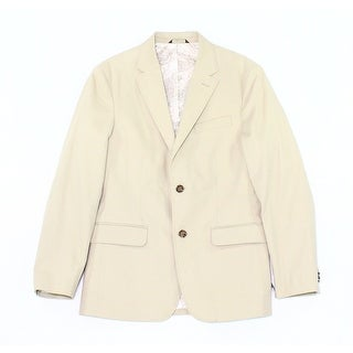 Tasso Elba NEW Beige Men's Size Small S Angelo Two Button Blazer