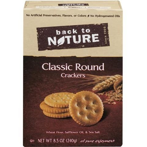 Back To Nature - Classic Round Crackers ( 6 - 8.5 OZ)