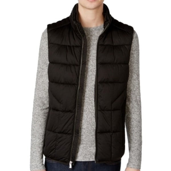 79ca6dc95508 Shop Calvin Klein NEW Black Mens Size XL Vest Puffer Full-Zipped Jacket -  Free Shipping Today - Overstock - 19533654