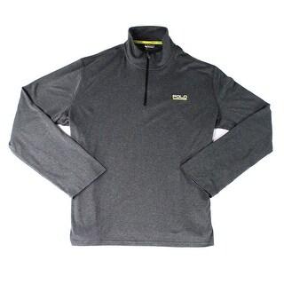 Polo Ralph Lauren NEW Gray Mens Size 2XL 1/2 Zip Pull-Over Sweater