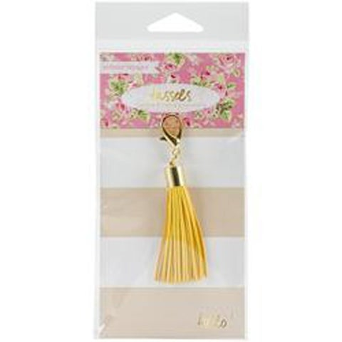 Yellow - Tassel Charm Embellishment