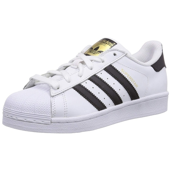 dda7fa725d85 Shop Adidas Mens Superstar Leather Low Top Lace Up Fashion Sneakers ...
