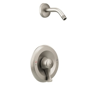 Moen T8375NH  Single Handle Posi-Temp Pressure Balanced Shower Trim without Shower Head from the M-DURA Collection (Less Valve)
